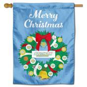 Southern Jaguars Christmas Holiday House Flag