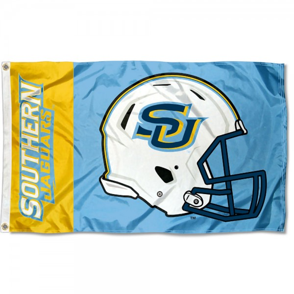 Southern Jaguars Helmet Flag
