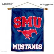 Southern Methodist Mustangs Wall Hanging