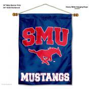 Southern Methodist Mustangs Wall Hanging