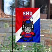 Southern Methodist Mustangs Yuru Chara Tokyo Dachi Garden Flag