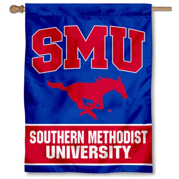 Southern Methodist University House Flag