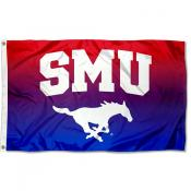 Southern Methodist University Two Tone Color Flag