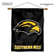 Southern Miss Eagles Banner with Pole
