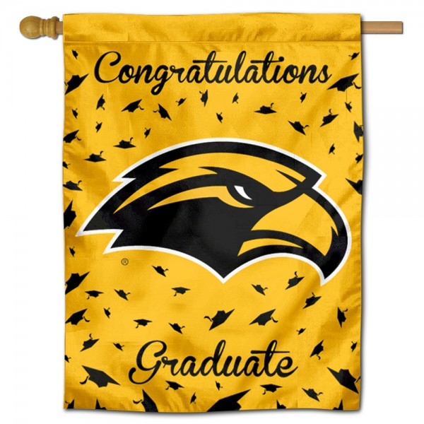 Southern Miss Eagles Graduation Banner