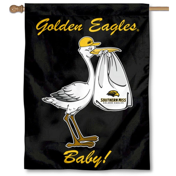 Southern Miss Eagles New Baby Banner