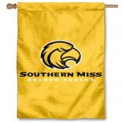 Southern Mississippi Eagles Gold House Flag