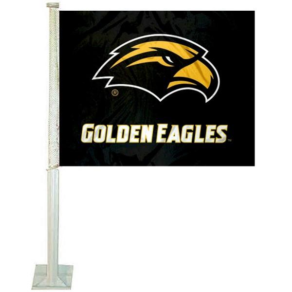Southern Mississippi Eagles Logo Car Flag