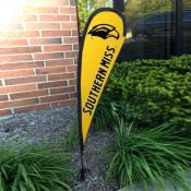 Southern Mississippi Eagles Mini Teardrop Garden Flag