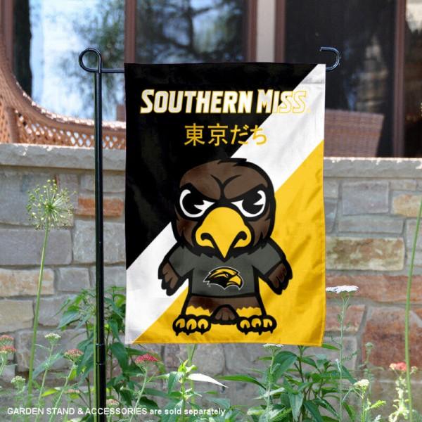 Southern Mississippi Eagles Yuru Chara Tokyo Dachi Garden Flag