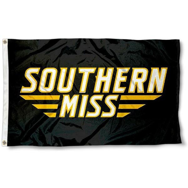 Southern Mississippi Golden Eagles Flag