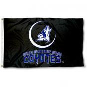 Southern Nevada Coyotes Black Logo Flag