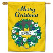 Southern Nevada Coyotes Christmas Holiday House Flag