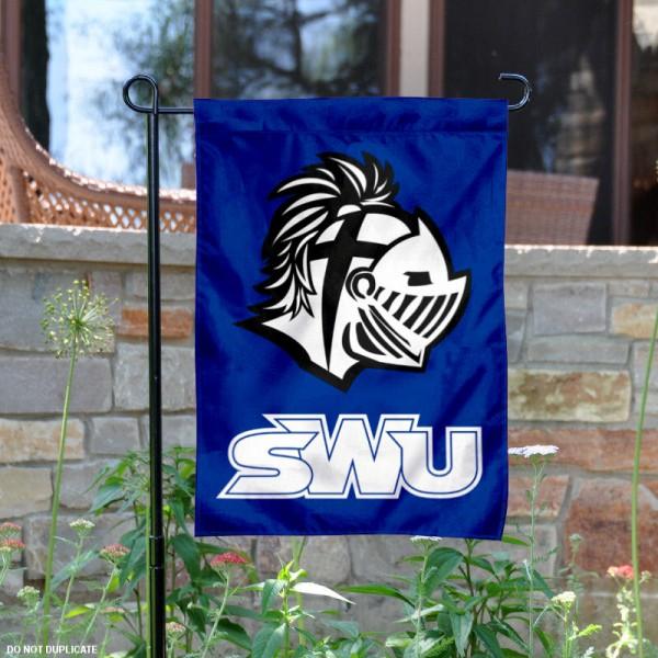 Southern Wesleyan Warriors Garden Banner