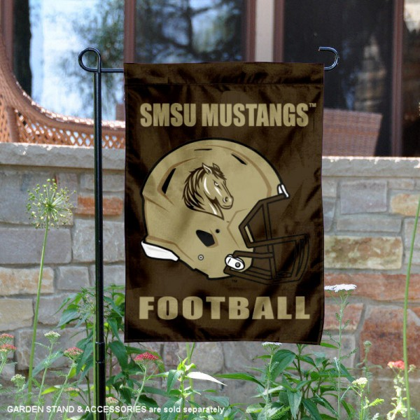 Southwest Minnesota State Mustangs Football Garden Flag