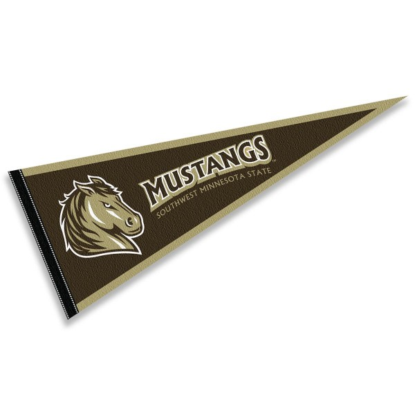 Southwest Minnesota State University Mustangs Pennant