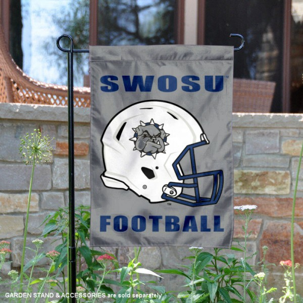 Southwestern Oklahoma State Bulldogs Football Garden Flag