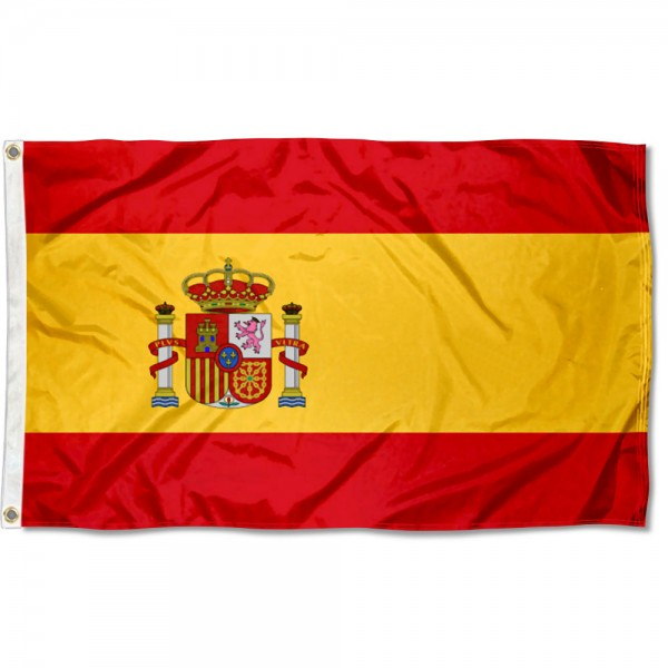 Spain Country 3x5 Polyester Flag