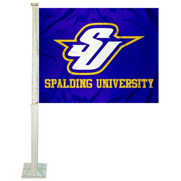 Spalding Golden Eagles Car Flag