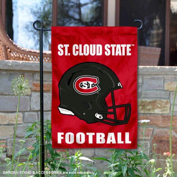 St. Cloud State Huskies Football Garden Flag