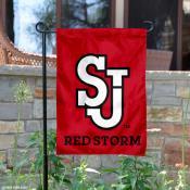 St. John's Red Storm Garden Flag