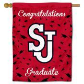 St. John's Red Storm Graduation Banner