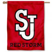 St. John's Red Storm House Flag