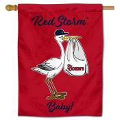St. John's Red Storm New Baby Banner