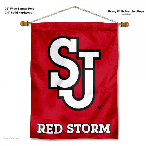 St. John's Red Storm Wall Hanging