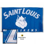 St. Louis Billikens Appliqued Nylon Flag