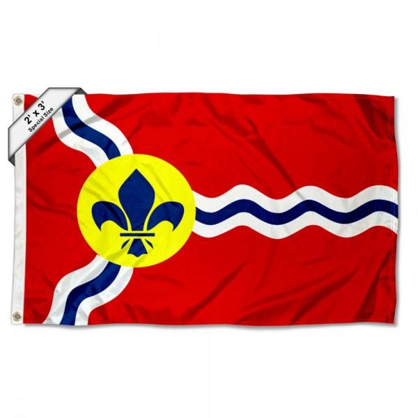 St Louis City 2x3 Foot Flag