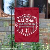 Stanford Cardinal 2021 Womens Basketball National Champs Double Sided Garden Flag