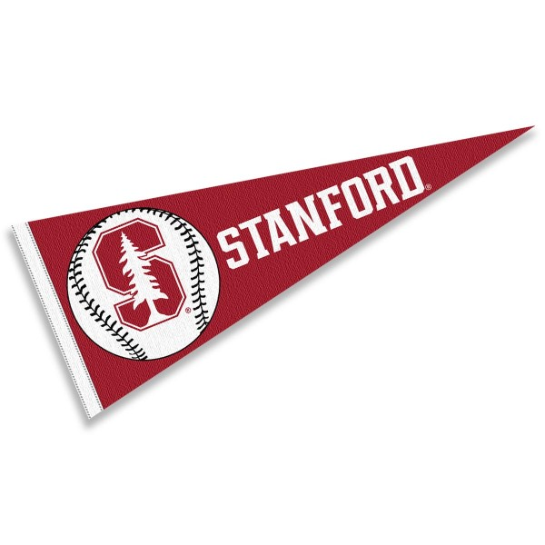 Stanford Cardinal Baseball College Pennant