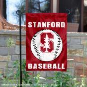 Stanford Cardinal Baseball Garden Flag