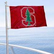 Stanford Cardinal Boat Nautical Flag