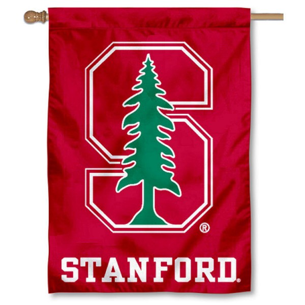 Stanford Cardinal House Flag