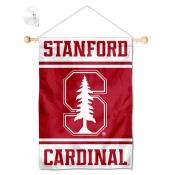 Stanford Cardinal Window Hanging Banner with Suction Cup