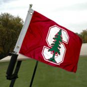 Stanford Golf Cart Flag
