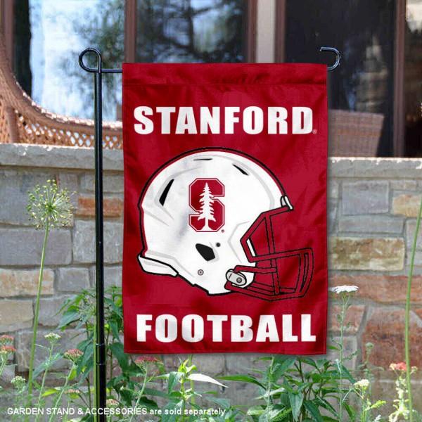 Stanford University Cardinal Football Garden Flag