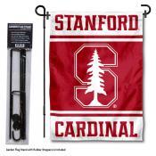 Stanford University Garden Flag and Yard Pole Holder Set