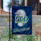 State College of Florida 2 Ply Double Sided Garden Flag