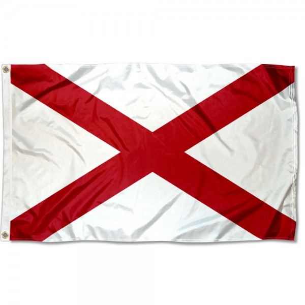 State of Alabama 3x5 Foot Flag