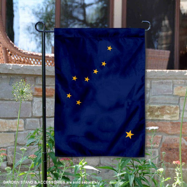 State of Alaska Yard Garden Banner