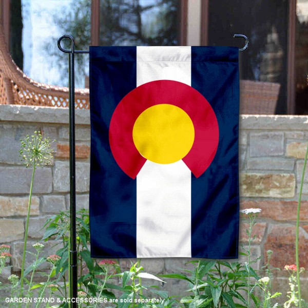 State of Colorado Yard Garden Banner
