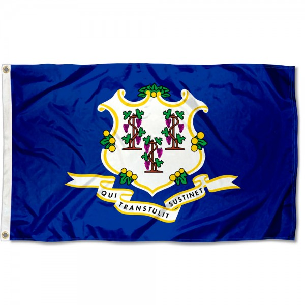 State of Connecticut 3x5 Foot Flag