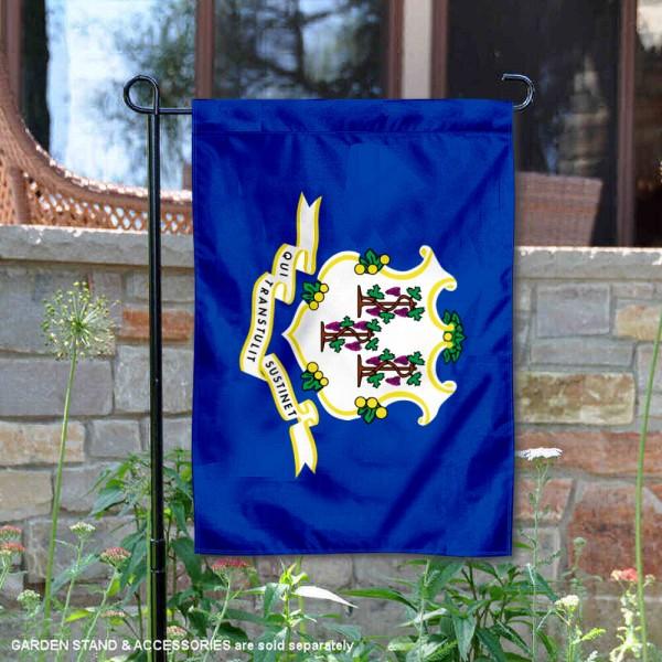 State of Connecticut Yard Garden Banner