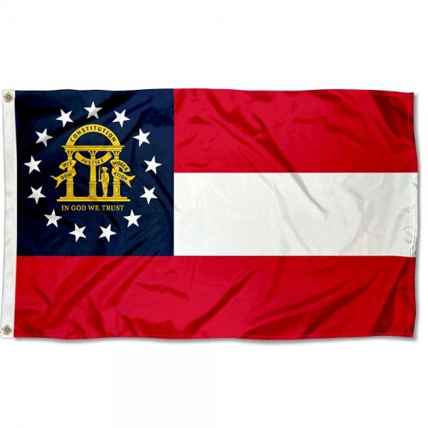 State of Georgia 3x5 Foot Flag
