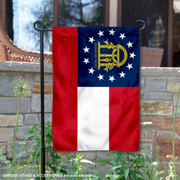 State of Georgia Yard Garden Banner