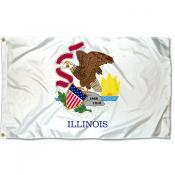 State of Illinois 3x5 Foot Flag