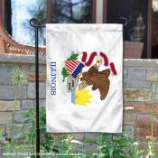 State of Illinois Yard Garden Banner